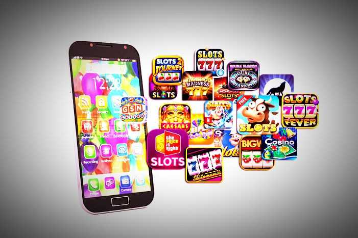 The development of mobile apps for slots